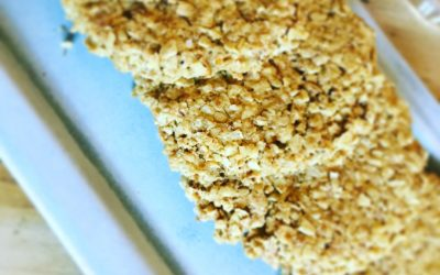 Quick and easy oatcakes