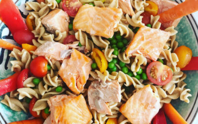 Easy Family Rainbow Trout Pasta